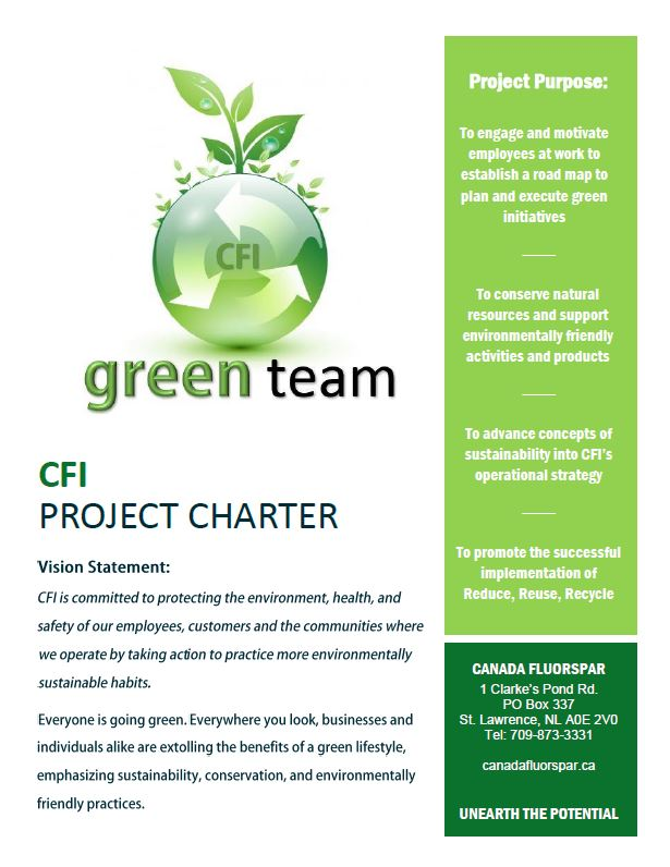 Green Team Poster